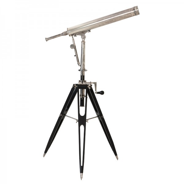 EICHHOLTZ Telescope Andromeda tarnished silver