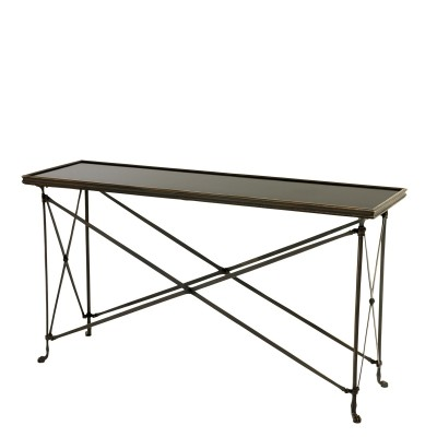 EICHHOLTZ Console Table Irmgard gunmetal