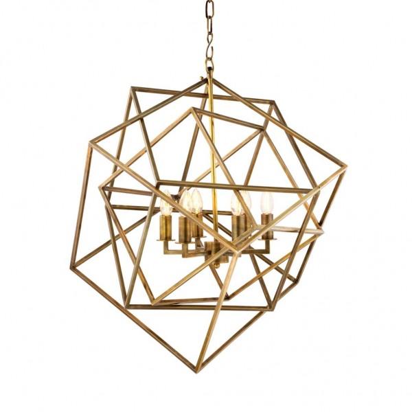 EICHHOLTZ Lantern Matrix vintage brass