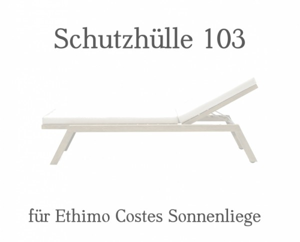 Ethimo Costes Regencover Sonnenliege