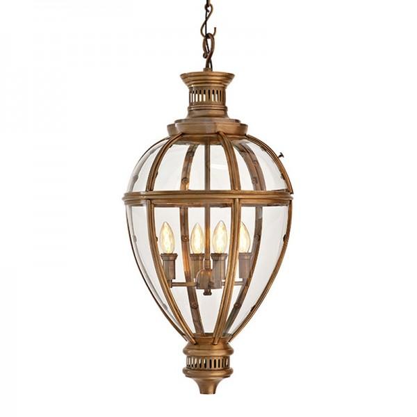 EICHHOLTZ Lantern Arcadia brass