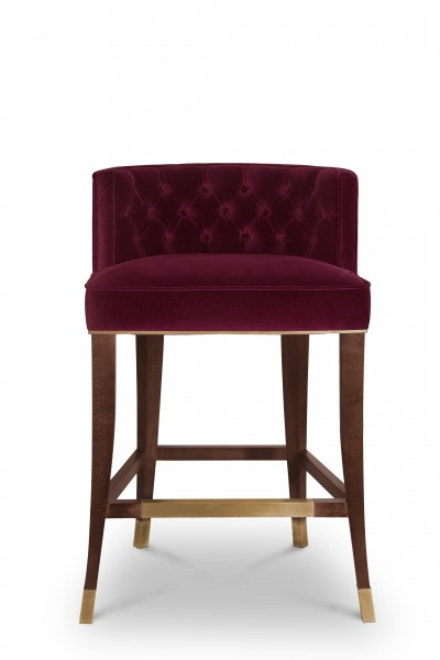 BRABBU Counter Stool Bourbon