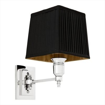 EICHHOLTZ Wall Lamp Lexington Single nickel Black