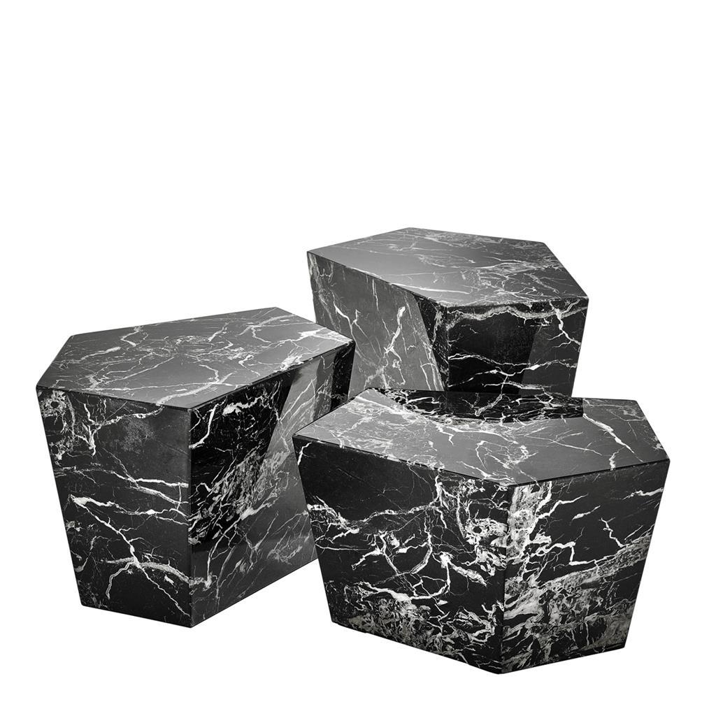 EICHHOLTZ Couchtisch Diamond black bei Villatmode