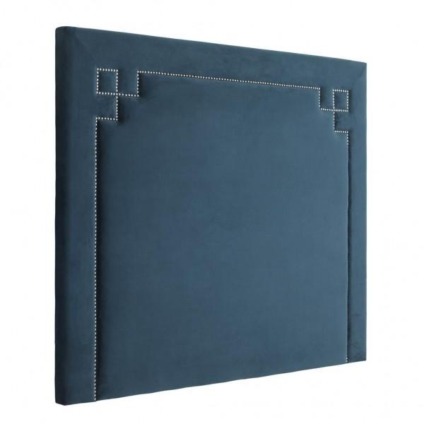EICHHOLTZ Kopfende Truman Blue velvet