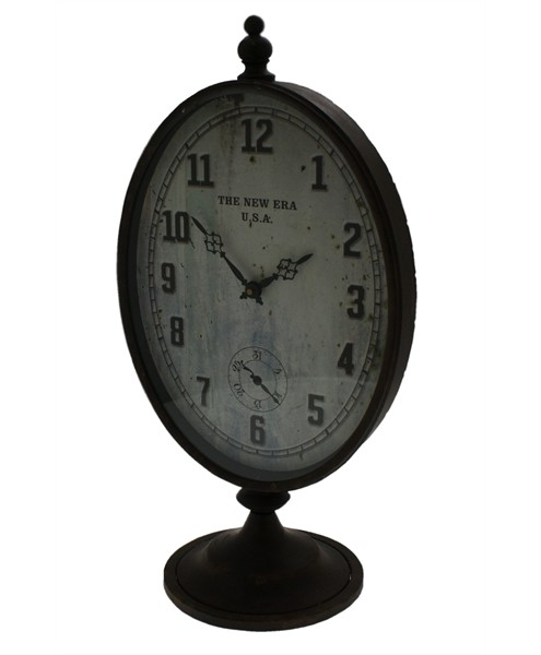 Standuhr Iron Clock Shephard