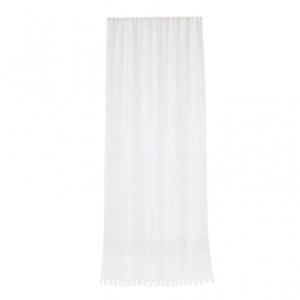 LENE BJERRE Gardine Abrielle white 250 cm