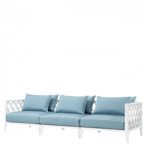 EICHHOLTZ Sofa Ocean Club outdoor white