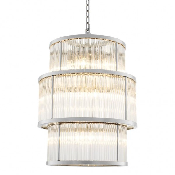 EICHHOLTZ Chandelier Palmera Nickel