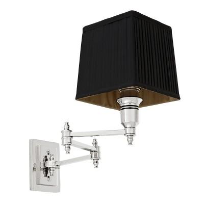 EICHHOLTZ Wall Lamp Lexington Swing nickel Black