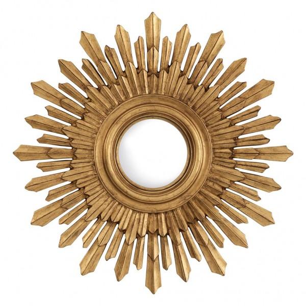 EICHHOLTZ Wandspiegel Sol Antik Gold