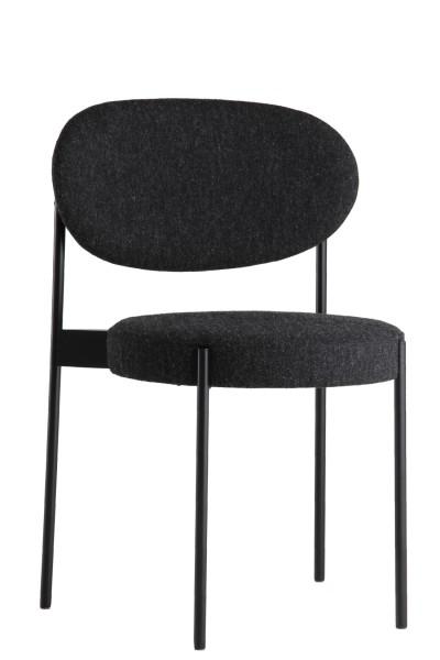 Verpan SERIES 430 Stuhl Set von 2 Stk. dark grey
