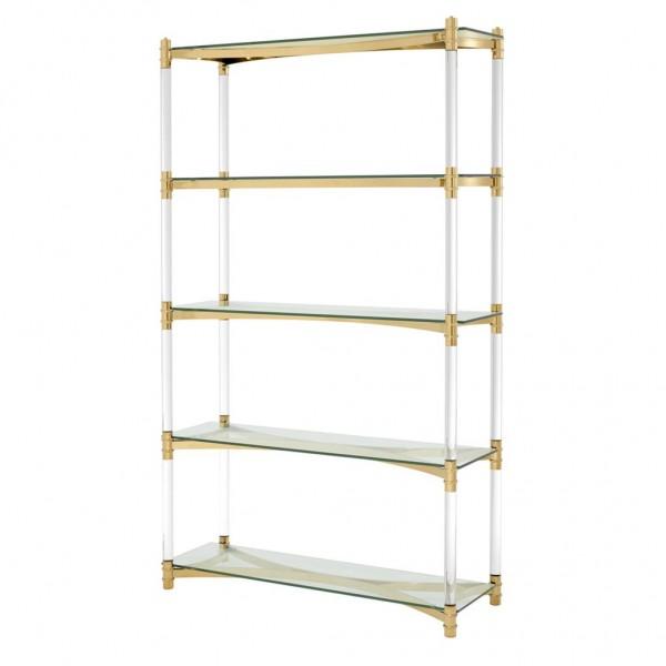 EICHHOLTZ Regal Cabinet Trento gold