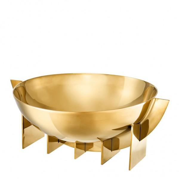 EICHHOLTZ Schale Bowl Bismarck Gold