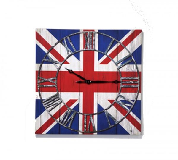 KARE Design Wanduhr Very British Union Jack