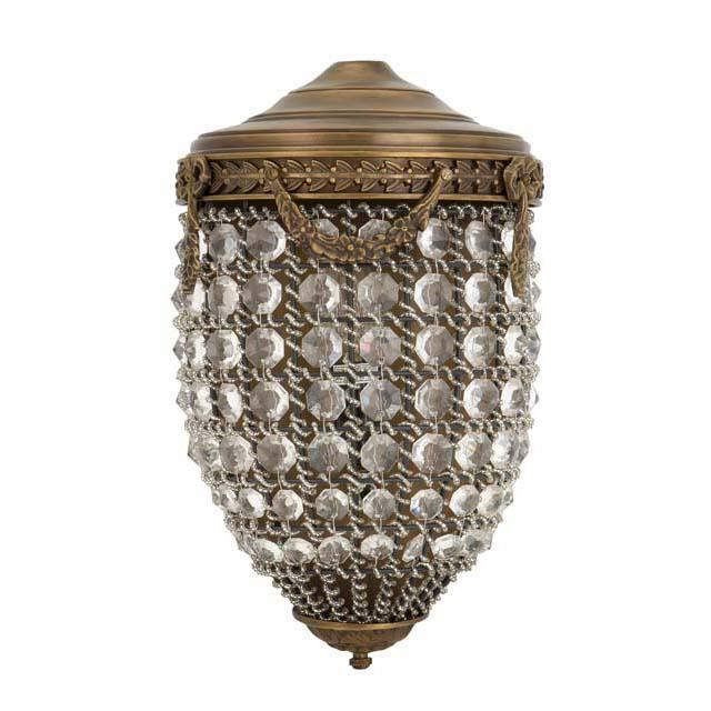 Wandlampe 'Emperor Brass' von EICHHOLTZ