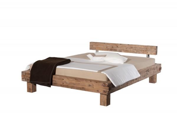 Modular Bett Namur gebeizt