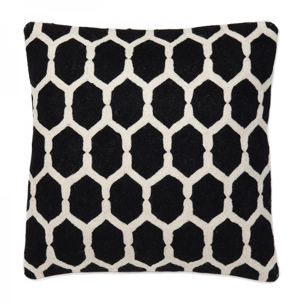 EICHHOLTZ Pillow Cirrus Black