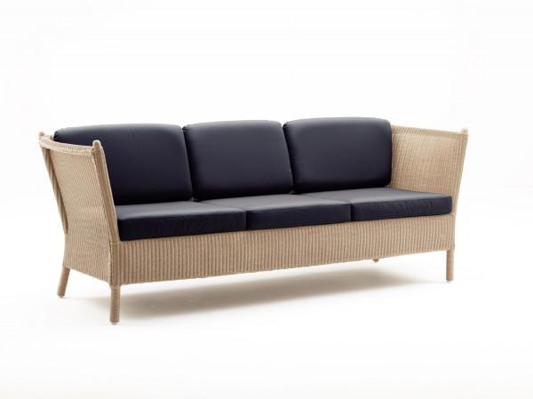 Sika Design Sofa Duo Dreisitzer Loom Natur