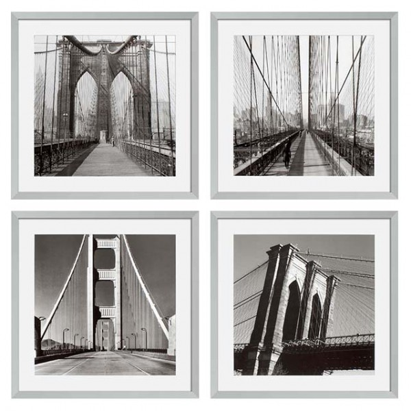 EICHHOLTZ Prints New York Bridges