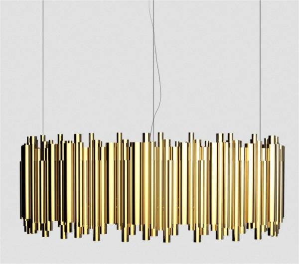 DelightFULL Brubeck LED Deckenleuchte Oval