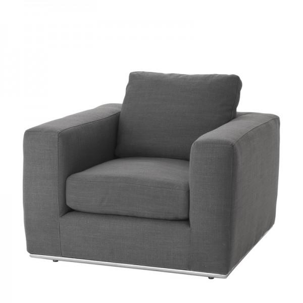 EICHHOLTZ Chair Atlanta panama charcoal