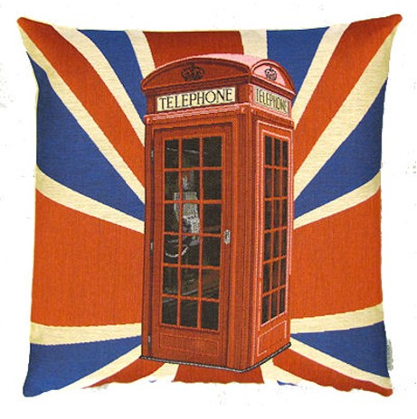 Sequoia Jacquard Kissen Union Jack Phone