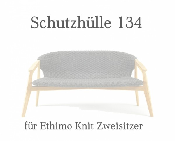 Ethimo Knit Regencover Zweisitzer