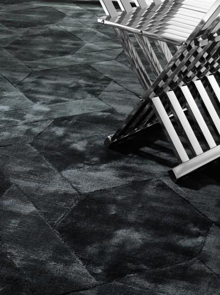 EICHHOLTZ Teppich George 170 x 240 Charcoal