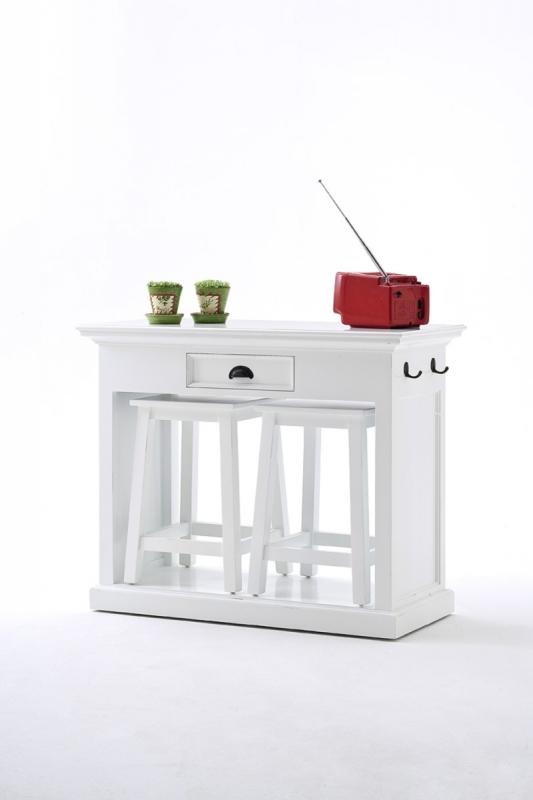 Küchentheke - Esstisch mit Stools