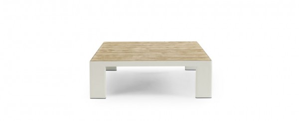 Ethimo Coffee Table Square 90 x 90 cm - Top Pickled Teak