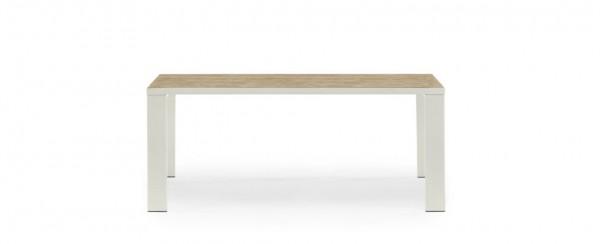 Ethimo Esstisch Esedra 200 cm - Tischplatte Pickled Teak