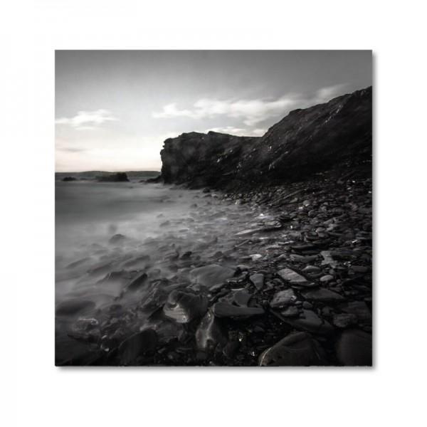 Niko Korte Fotoprint - Black Beach