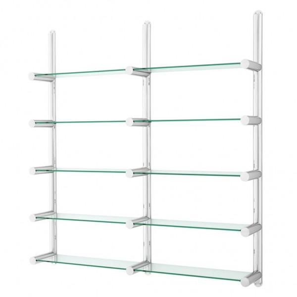 EICHHOLTZ Regal Cabinet Edison stainless steel