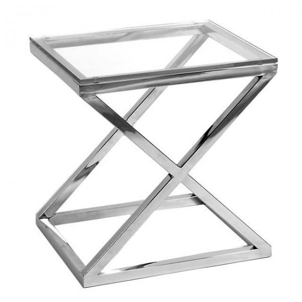 EICHHOLTZ Table Side Criss Cross