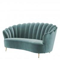 EICHHOLTZ Sofa Messina cameron deep turquoise