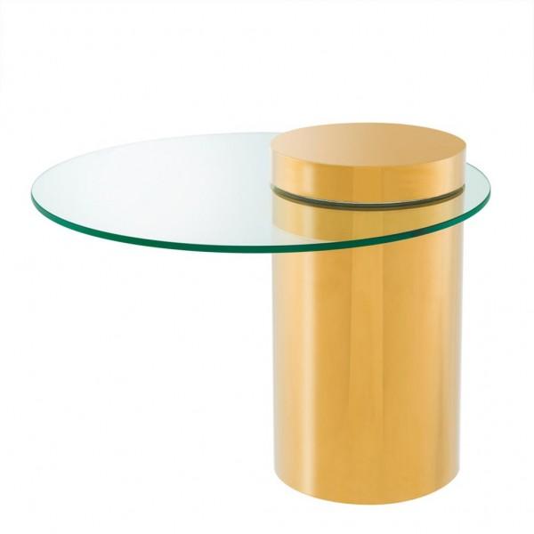 EICHHOLTZ Beistelltisch Equilibre Gold