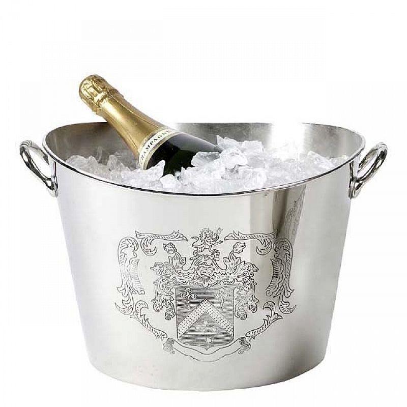 Eleganter Wein- und Sektkühler