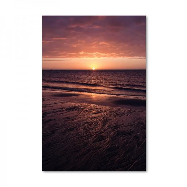 Niko Korte Fotoprint - Wattenmeer Morgen