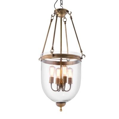 EICHHOLTZ Lantern Cameron M vintage brass
