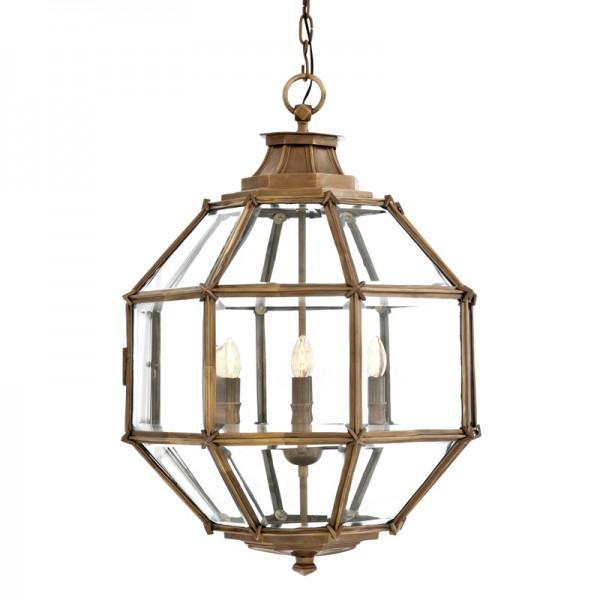 EICHHOLTZ Lantern Owen antique brass M
