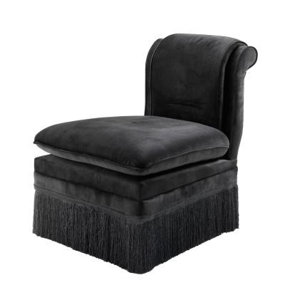 EICHHOLTZ Chair Boucheron black