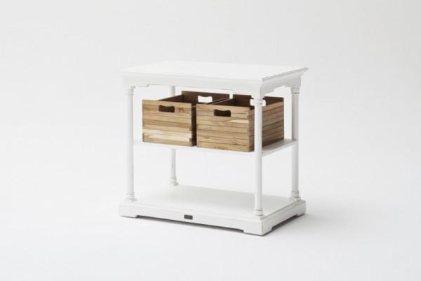 Nova Solo Küchenregal Provence mit 2 Boxen