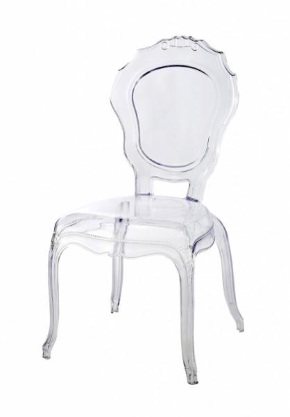 'Ghost-Chair' - der Acrylglasstuhl