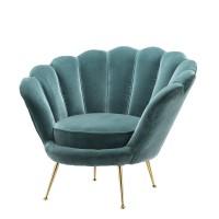 EICHHOLTZ Sessel Trapezium turquoise