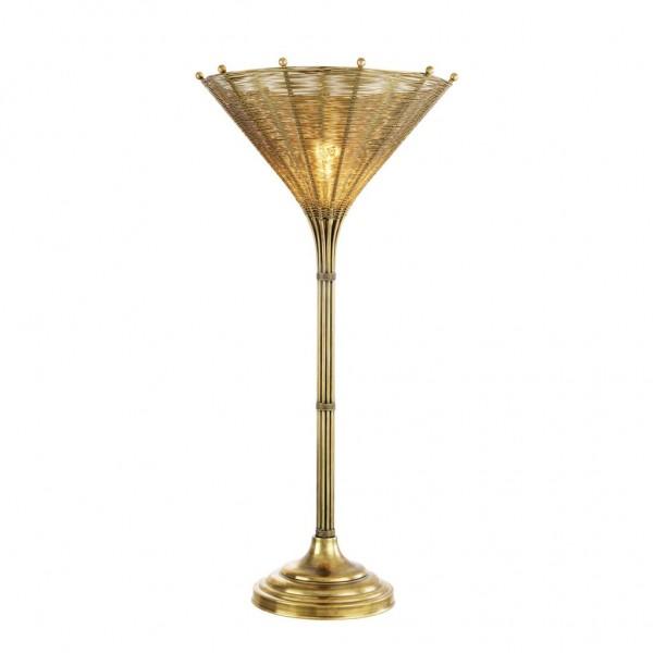 EICHHOLTZ Tischlampe Kon Tiki Messing