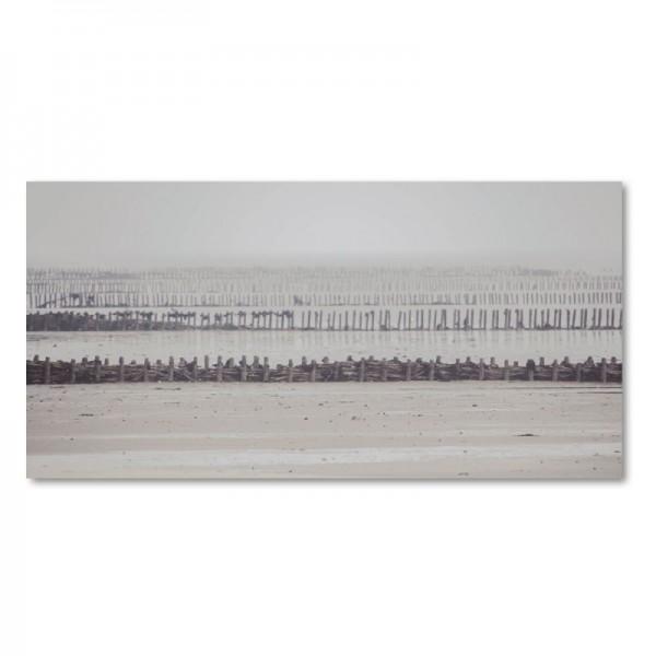 Niko Korte Fotoprint - Fences / Wattenmeer
