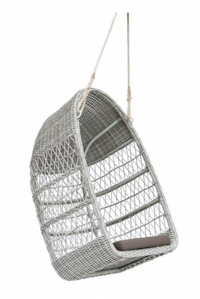 Sika Design Gartenschaukel Evelyn Swing Weiß