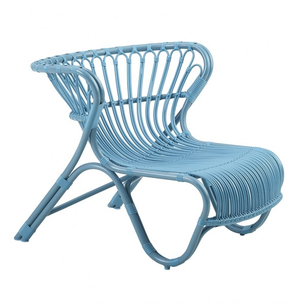 Sika Design Outdoor Sessel Fox Blau Viggo Boesen