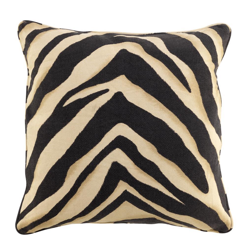 eichholtz pillow zebra brown bei. Black Bedroom Furniture Sets. Home Design Ideas